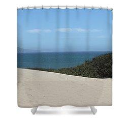 Ano Neuvo Shower Curtain by Amanda Barcon