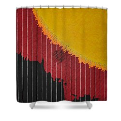 Anomaly At The Sun Shower Curtain