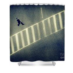 Anonymity Shower Curtain by Dana DiPasquale