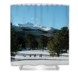 Another Beautiful Day In Rocky Mountain National Park - 0612 Shower Curtain