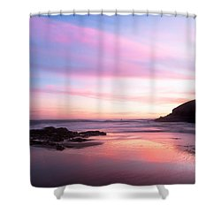 Another Dawn Shower Curtain by Catherine Lau