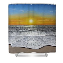 Another Day Shower Curtain by Paul Newcastle