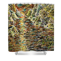 Another Days Eve Shower Curtain