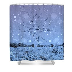 Another Dimension  Shower Curtain by Keith Elliott