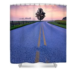 Another Gettysburg Morning Shower Curtain