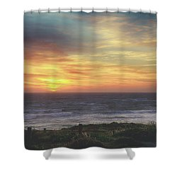 Another Goodbye Shower Curtain by Laurie Search