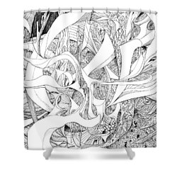 Another Kind Of Peace Shower Curtain