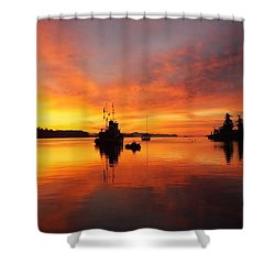 Another Morning Shower Curtain