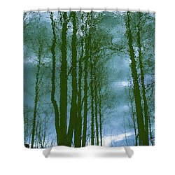 Another Place And Time Shower Curtain