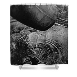 Another Rainy Day Shower Curtain by Trystan Oldfield