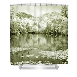 Shower Curtain featuring the photograph Another World by Alex Grichenko