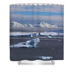 Antarctic Peninsula Shower Curtain