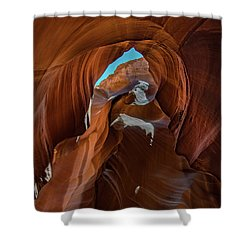 Antelope Canyon 16 Shower Curtain by Phil Abrams