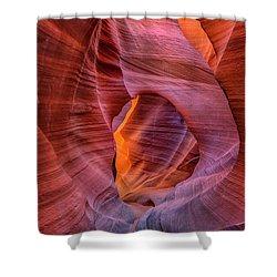 Antelope Canyon Chimney Shower Curtain