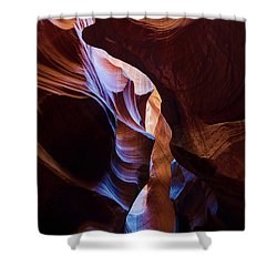Antelope Canyon Squeeze Shower Curtain