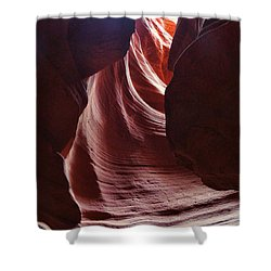 Antelope Valley Slot Canyon 3 Shower Curtain