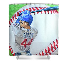 Anthony Rizzo 2016 Shower Curtain