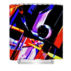 Shower Curtain featuring the photograph Anti Gravity by Xn Tyler