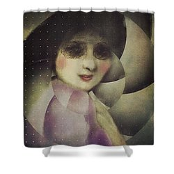 Anticipation Shower Curtain by Alexis Rotella