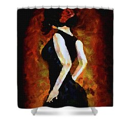 Anticipation Shower Curtain by Kat Solinsky