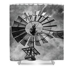 Shower Curtain featuring the photograph Anticipation by Stephen Stookey