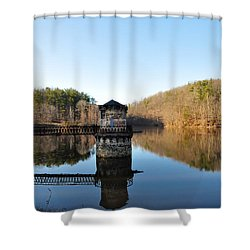 Antietam Creek Shower Curtain by Bill Cannon