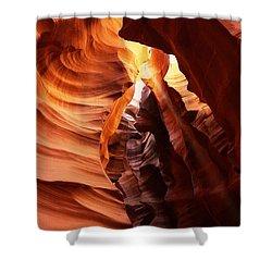 Antilope Canyon Shower Curtain
