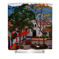 Antioquia Shower Curtain