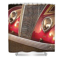 Antique Car Shower Curtain