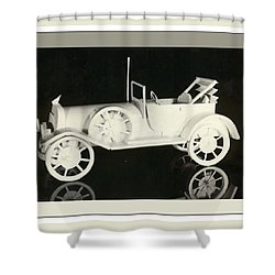 Antique Car Shower Curtain