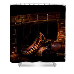 Antique Desk Shower Curtain
