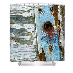 Antique Door Knob Face Plate Shower Curtain