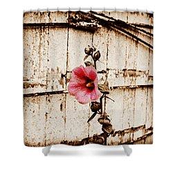 Antique Flower Shower Curtain