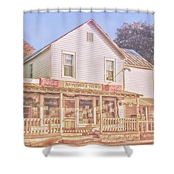 Antique Store, Colonial Beach Virginia Shower Curtain