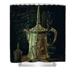 Antique Tea Pot Shower Curtain