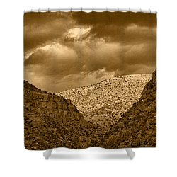 Antique Train Ride Tnt Shower Curtain