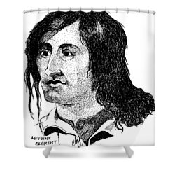 Antoine Clement Shower Curtain