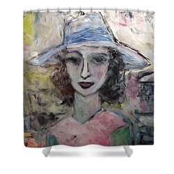 Antoinelle Shower Curtain by Mykul Anjelo