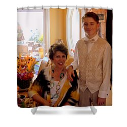 Antonia And Grandson Shower Curtain