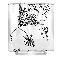 Antonio Vivaldi (c1675-1741) Shower Curtain by Granger