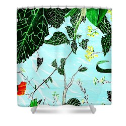 Ant's Sky View Shower Curtain
