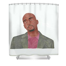 Antwon Tanner Shower Curtain