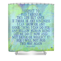 Any Good Thing Shower Curtain