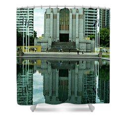 Anzac Memorial Shower Curtain