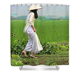 Ao Dai II Shower Curtain