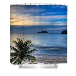 Ao Manao Bay Shower Curtain