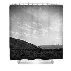 Apache Flats Shower Curtain