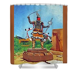 Apache Mountain Spirit Dancer Shower Curtain