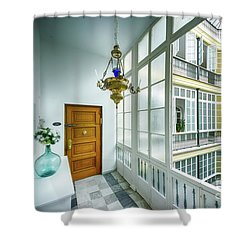 Shower Curtain featuring the photograph Apartment In The Heart Of Cadiz 17th Century Cadiz by Pablo Avanzini