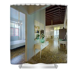 Shower Curtain featuring the photograph Apartment In The Heart Of Cadiz 17th Century Spain by Pablo Avanzini